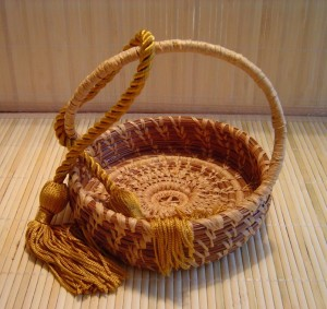 My very first basket